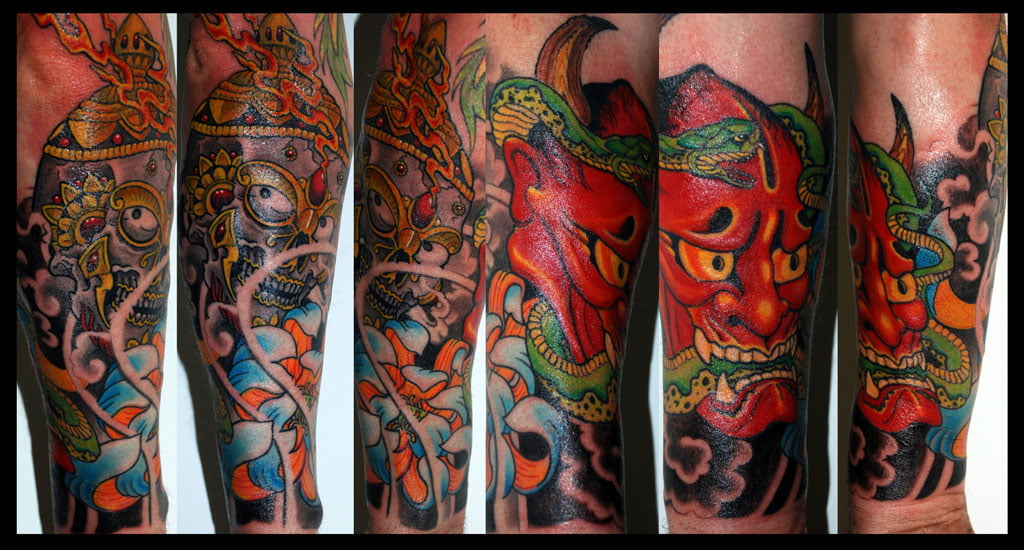Japan Tattoo Sleeves