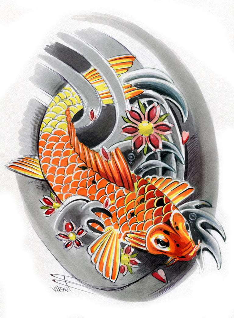 Japanese half sleeve tattoo designs - 300 Dragons Tattoo Presentations Japanese Sleeve Tattoos Designs