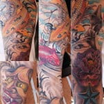 Japanese Tattoo Arm Sleeve