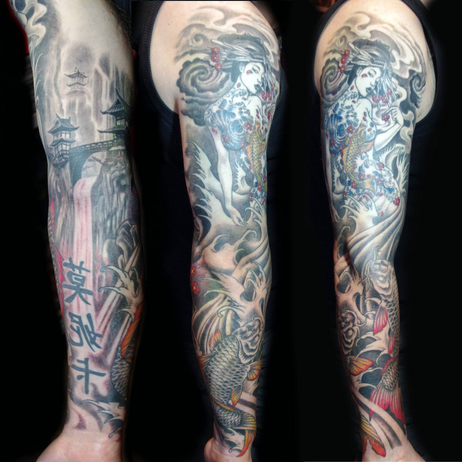 Japanese Tattoos Sleeve