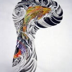 Koi Sleeve Tattoo Designs