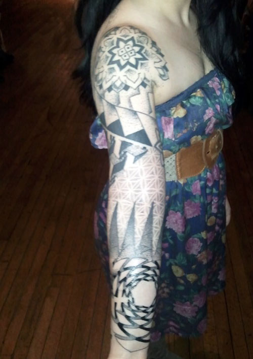 Pictures Of Tattoo Sleeves For Females