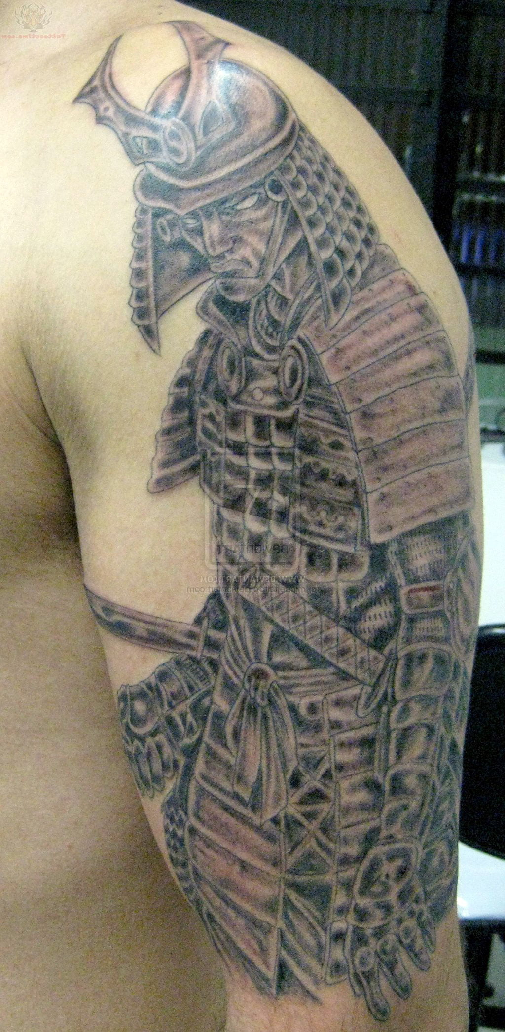 Samurai Half Sleeve Tattoos