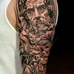 Sleeve Tattoo Designs For Men Black And Grey