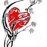 Beautiful Heart Tattoo Designs