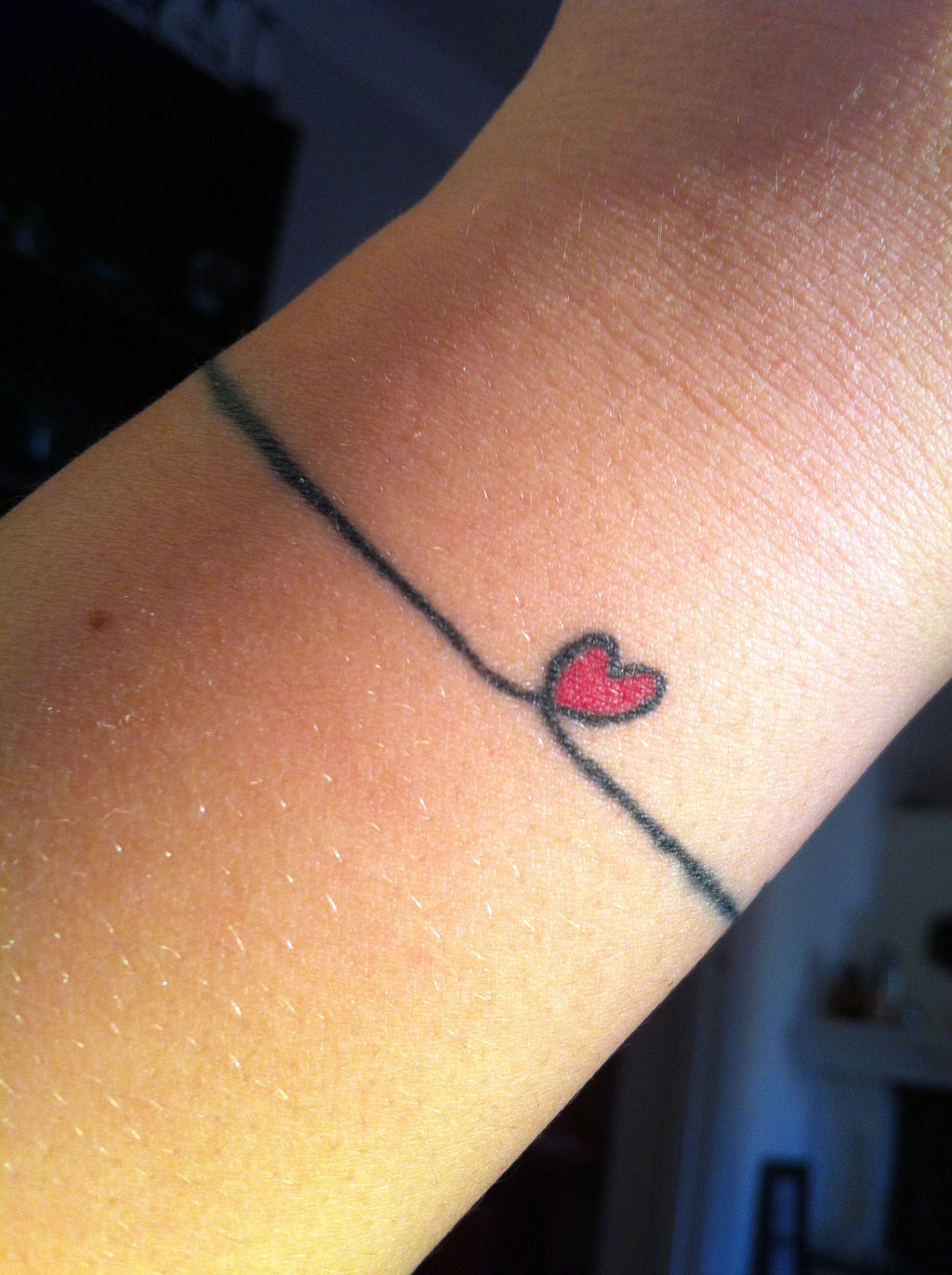 Cute Girly Heart Tattoos