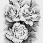 Heart And Rose Tattoo Designs