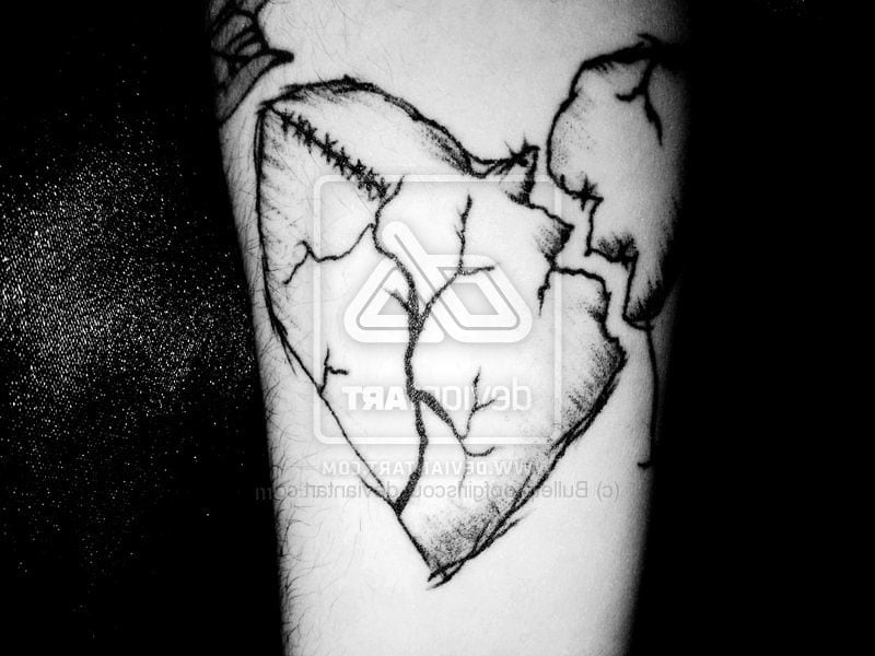 Heart Broken Tattoos