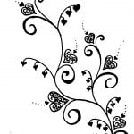 Heart Vine Tattoo Designs
