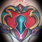 Pictures Of Heart Tattoos With Names