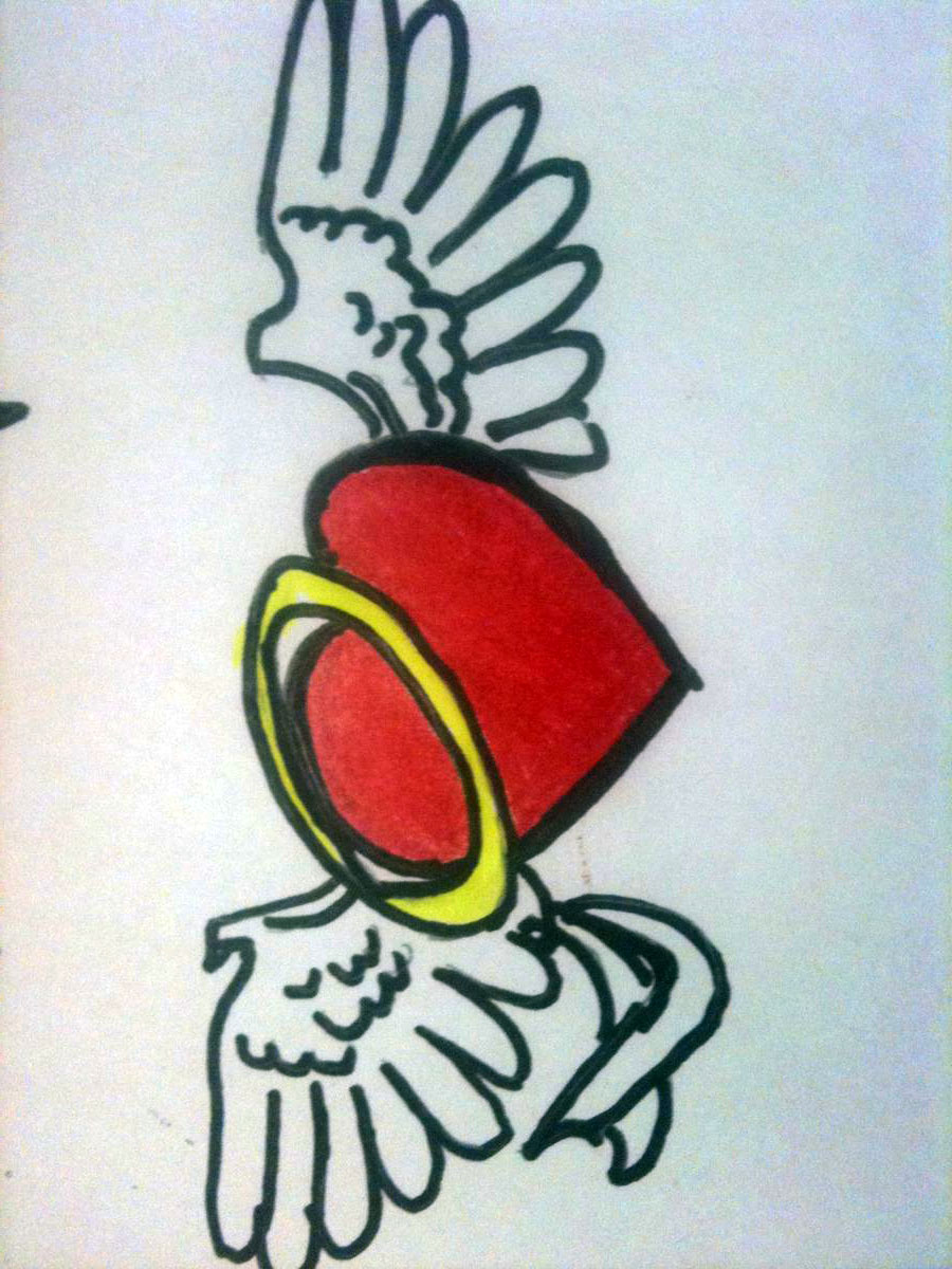 Heart tattoos designs -  Simple Heart Tattoos Designs