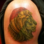 Lion Of Judah Tattoo Design