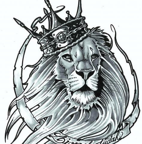 Lion Of Judah Tattoo Designs