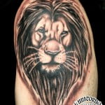 Lion Tattoo Art