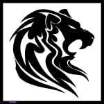 Lion Tribal Tattoos For Men