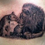 Lions Tattoos Pictures