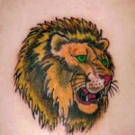 Pictures Of Lion Head Tattoos