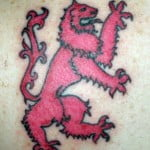 Rampant Lion Tattoos