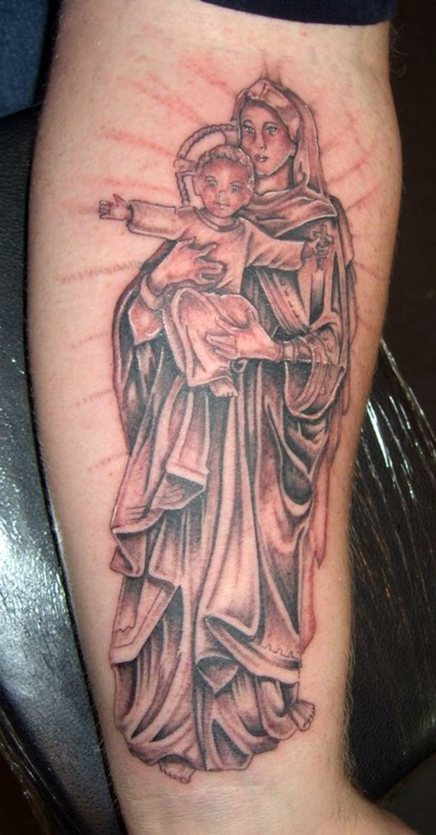 Christian Religion Tattoos