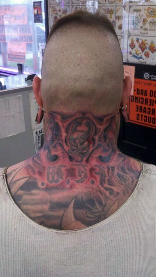 Religious Neck Tattoos
