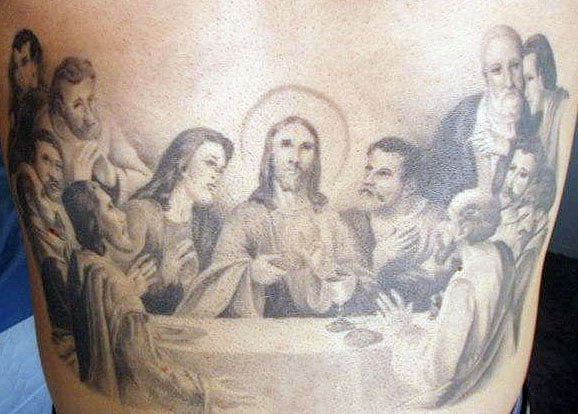 Religious Tattoos Images