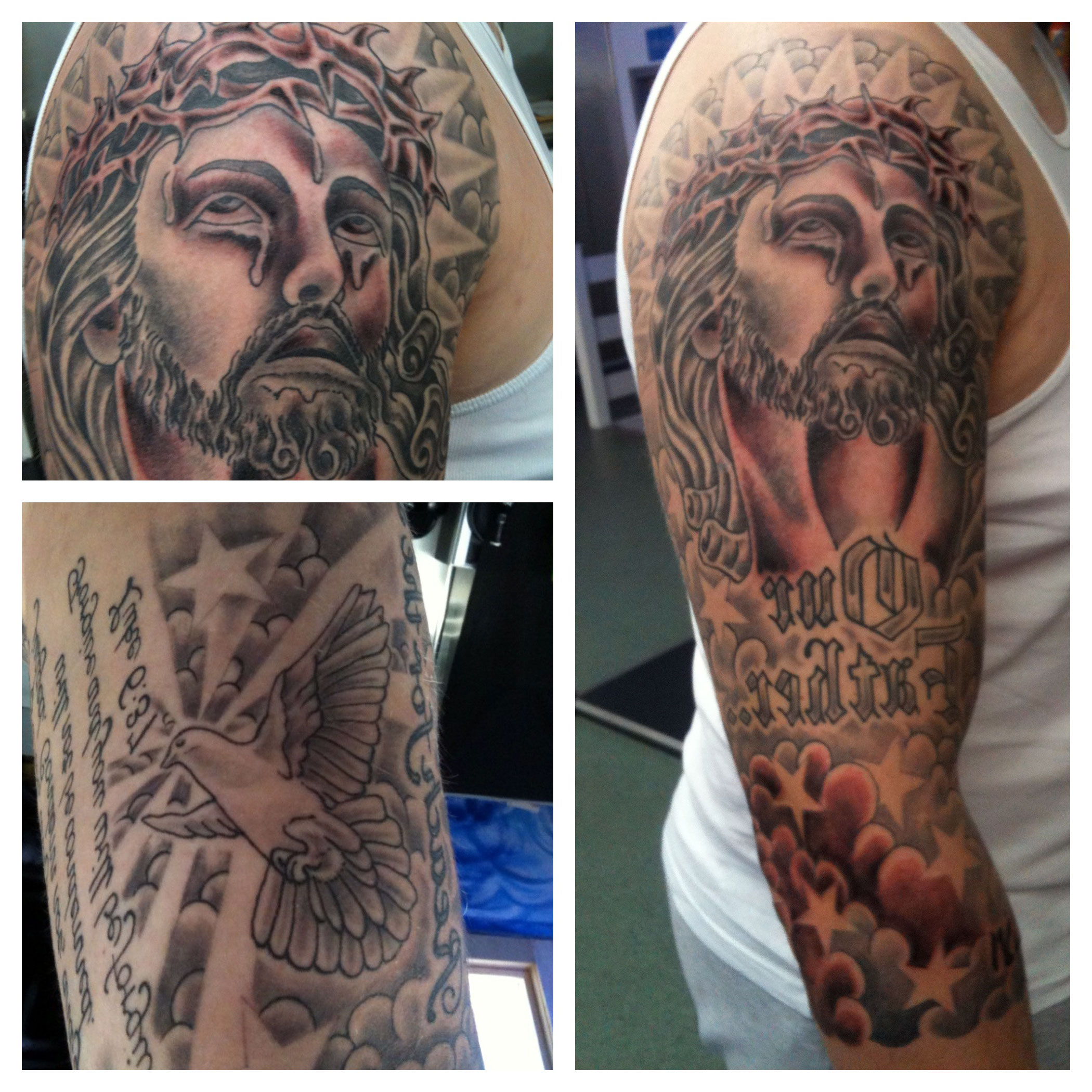 Religious Themed Tattoos