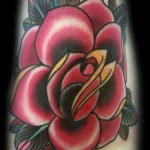 Foot Rose Tattoos
