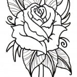 Free Rose Tattoos Designs