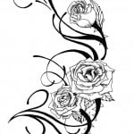 Rose Tattoo Designs Free
