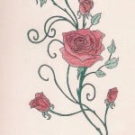 Rose Tattoos With Vines