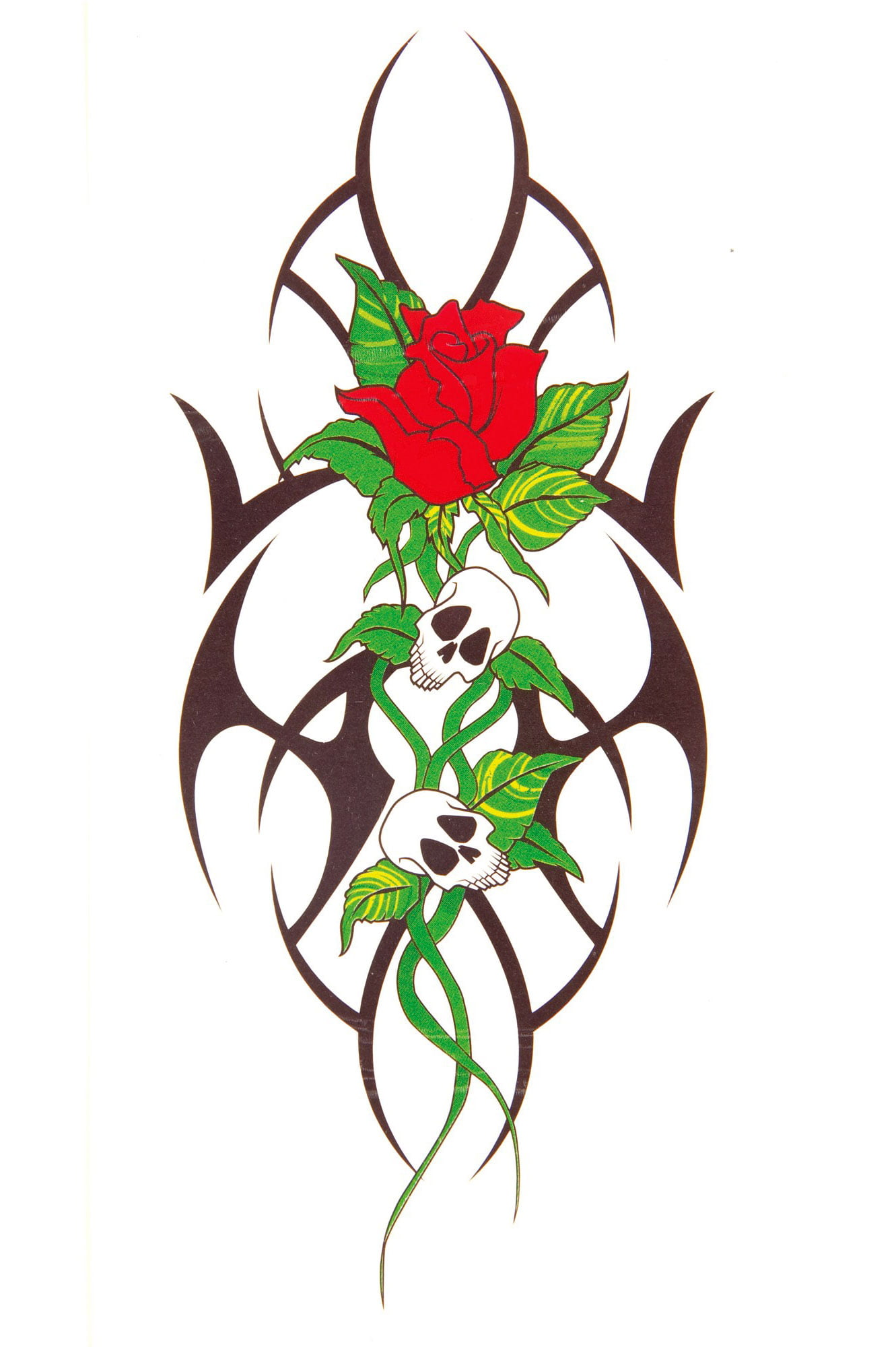 Rose Temporary Tattoos