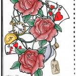 Roses Design Tattoo