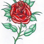 Roses Designs Tattoos