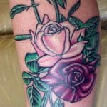 Tattoos Of Roses And Vines