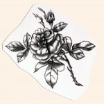 Temporary Rose Tattoos