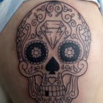 Best Sugar Skull Tattoo Artist