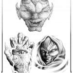 Demons And Skulls Tattoos
