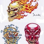 Free Printable Skull Tattoo Designs