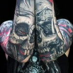 Mens Skull Tattoos