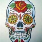 Mexican Skull Tattoo Designs