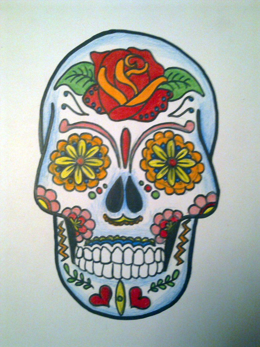mexican skull tattoo designs cool tattoos bonbaden. Black Bedroom Furniture Sets. Home Design Ideas
