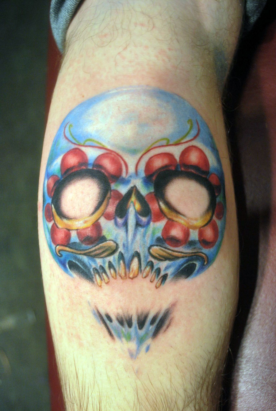 Mexican Skull Tattoos For Men