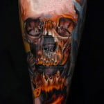 Pictures Of Skulls Tattoos