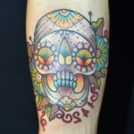Pictures Of Sugar Skull Tattoos
