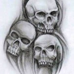 Pictures Of Tattoo Skulls