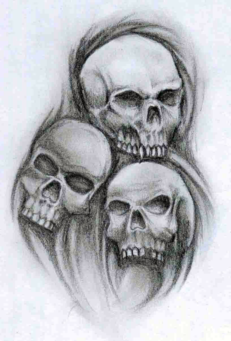 Pictures Of Tattoo Skulls | Cool Tattoos - Bonbaden