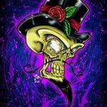 Scary Skull Tattoo Designs