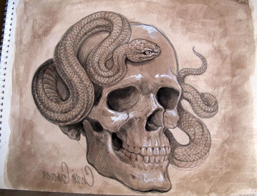 Skull Evil Tattoos | Cool Tattoos - Bonbaden