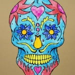 Skull Tattoos With Color