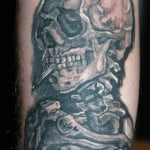 Skulls Smoke Tattoo Pictures